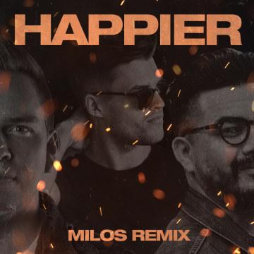 JOWST - Happier feat. Chris Medina (Milos Remix) Artwork
