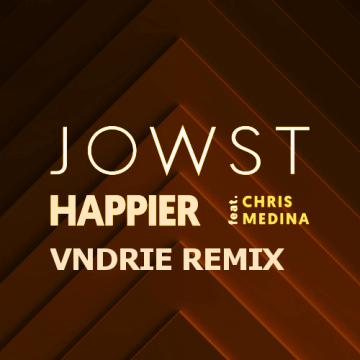 JOWST - Happier feat. Chris Medina (VNDRIE Remix) Artwork
