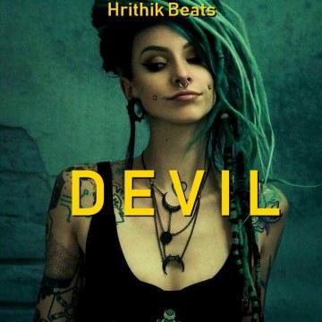 "Hrithik Mehra - ""Devil""   Hard Trap 808 Type Beat   Travis Scott Hip Hop Instrumental (Prod. Hrithik Beats) Artwork"
