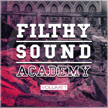 Konka - Filthy Sound Academy Vol. 1 Artwork