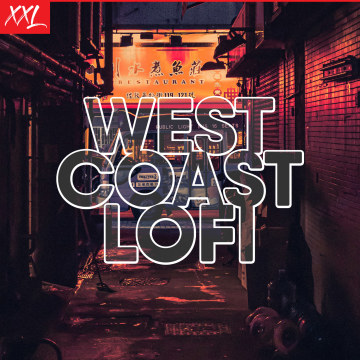 PINEO & LOEB - West Coast Lo-Fi Artwork