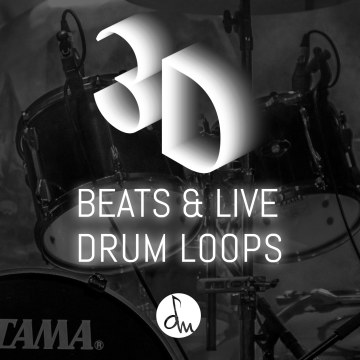L&C - 3D Beats & Live Drum Loops Artwork