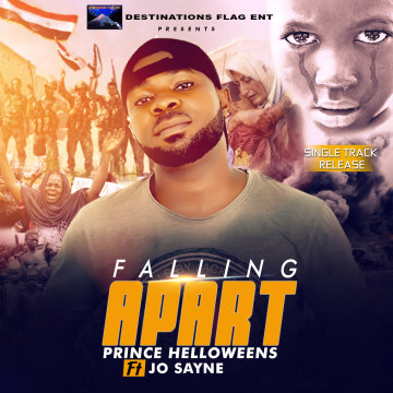 Prince helloweens ft jo sayne - Falling apart Artwork