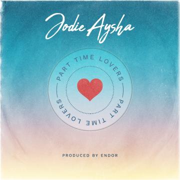 Jodie Aysha - Part Time Lovers Artwork