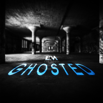 D.M.PRESENTS - Ghosted By Dean Meakins. Artwork