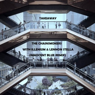 The Chainsmokers - Takeaway (Innocent Blue Remix) Artwork