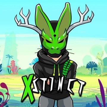 Xstinct Ft. Dani king - Addicted Artwork