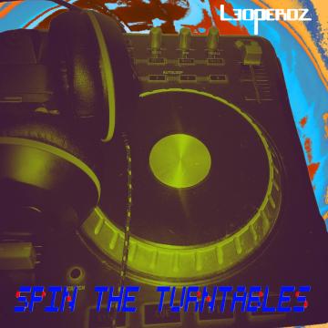 Leoperdz - Spin the turntables Artwork
