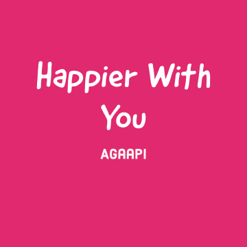 Agaapi - Happier With You Artwork