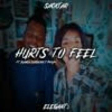Elegant2 - Elegant2 X Sacktar - Hurts To Feel Feat. Bianca Cordeiro & Duckjho Artwork