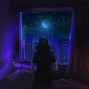 ZEVY (ft. KING SOL) - WAITING ON YOU Artwork
