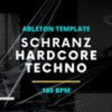 HardTechno and Schranz Samples & Loops - Schranz Hardcore Techno - Ableton LIve Template Artwork