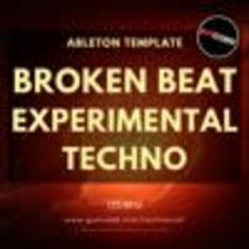 HardTechno and Schranz Samples & Loops - Broken Beat Experimental Techno Ableton Template (Sample Pack Live) Artwork