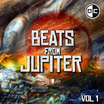 Jupiter's Red Eyes - Beats from Jupiter Artwork
