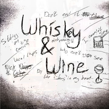 Nick Khoury - Whiskey and Wine ft Caliya Artwork