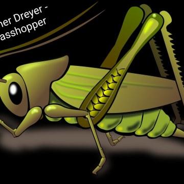 Werner Dreyer - Grasshopper Artwork