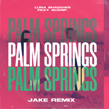 Luna Shadows - Palm Springs (feat. In.Drip.) (JAKE Remix) Artwork