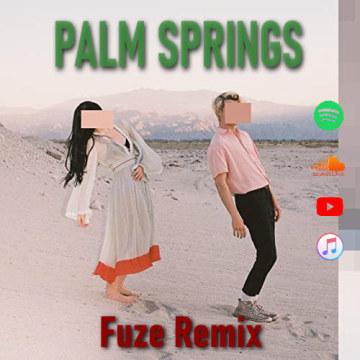 Luna Shadows - Palm Springs (feat. In.Drip.) (Fuze Remix) Artwork