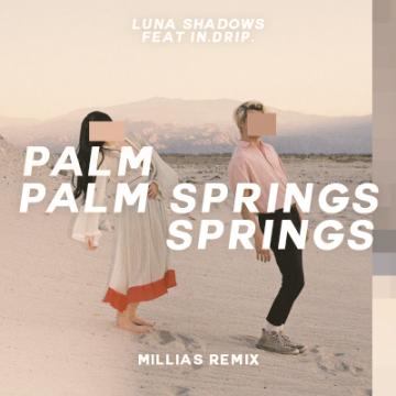 Luna Shadows - Palm Springs (feat. In.Drip.) (MILLIAS Remix) Artwork