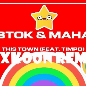 Tobtok - This Town w/ Mahalo ft. Timpo (RAXKOON Remix) Artwork