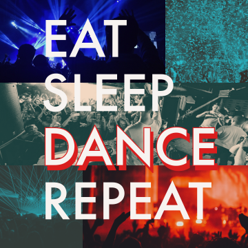 De Ceive - Eat Sleep Dance Repeat Artwork