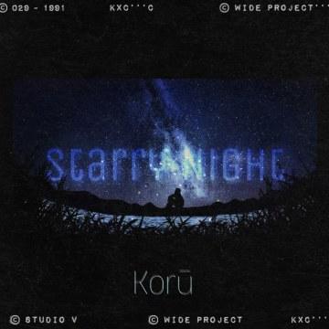 Korū - Starry Night Artwork