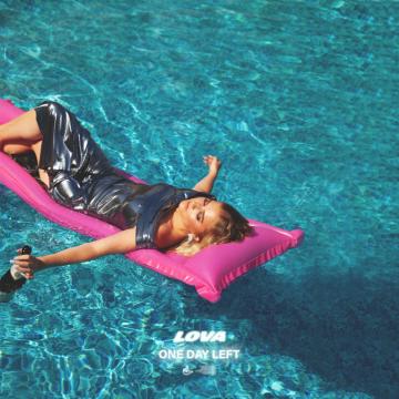 LOVA - One day left (Liberace Remix) Artwork