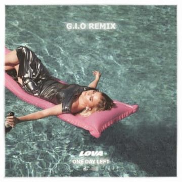 LOVA - One day left (G.I.O Remix) Artwork