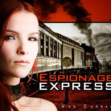 Van Curran - Espionage Express Artwork