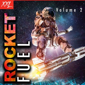 Lil' Rocketman - Rocket Fuel Vol 2 Artwork