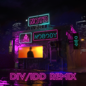 NOTD - NOBODY (DIV/IDD Remix) Artwork
