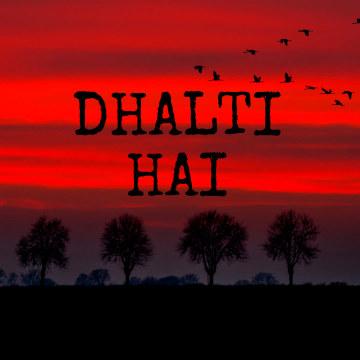 Somanshu - Somanshu X Ashwin - Dhalti Hai Artwork