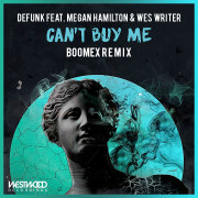 Defunk - Can't Buy Me feat. Megan Hamilton & Wes Writer (Boomex Remix) Artwork