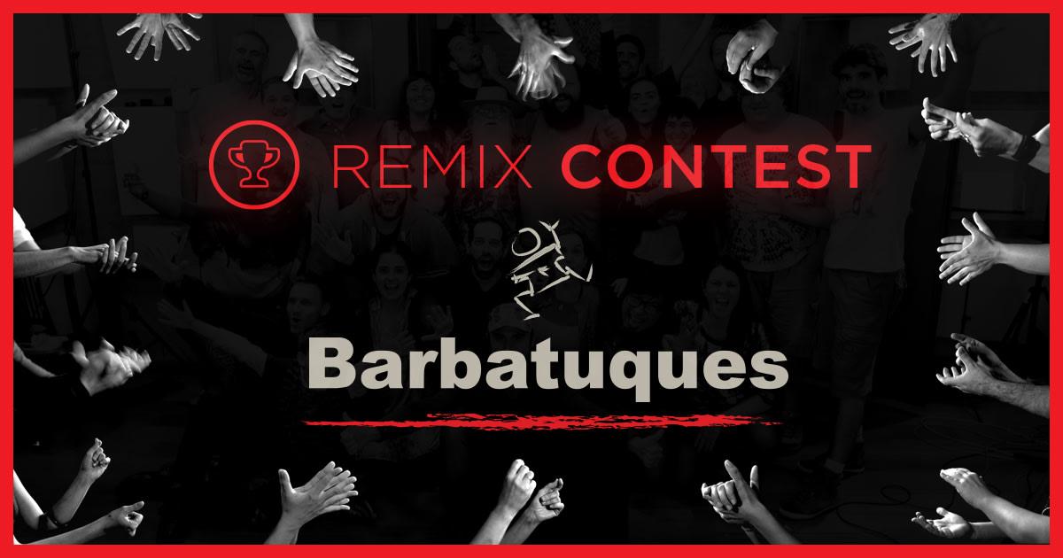 Enter the Barbatuques Remix Contest   SKIO Music