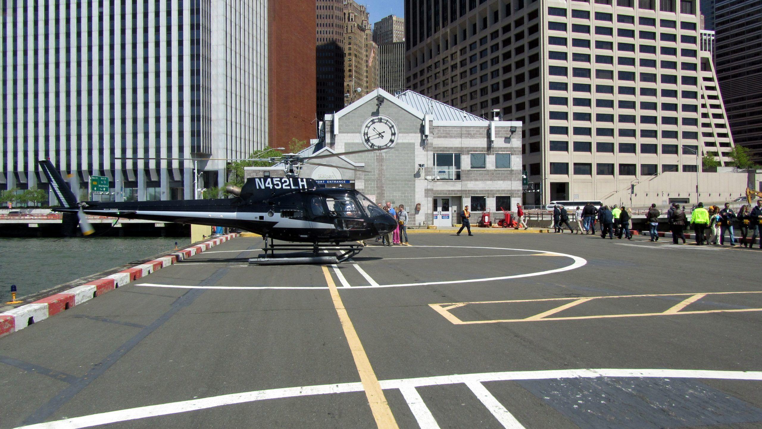 Foto dell'eliporto di Downtown Manhattan