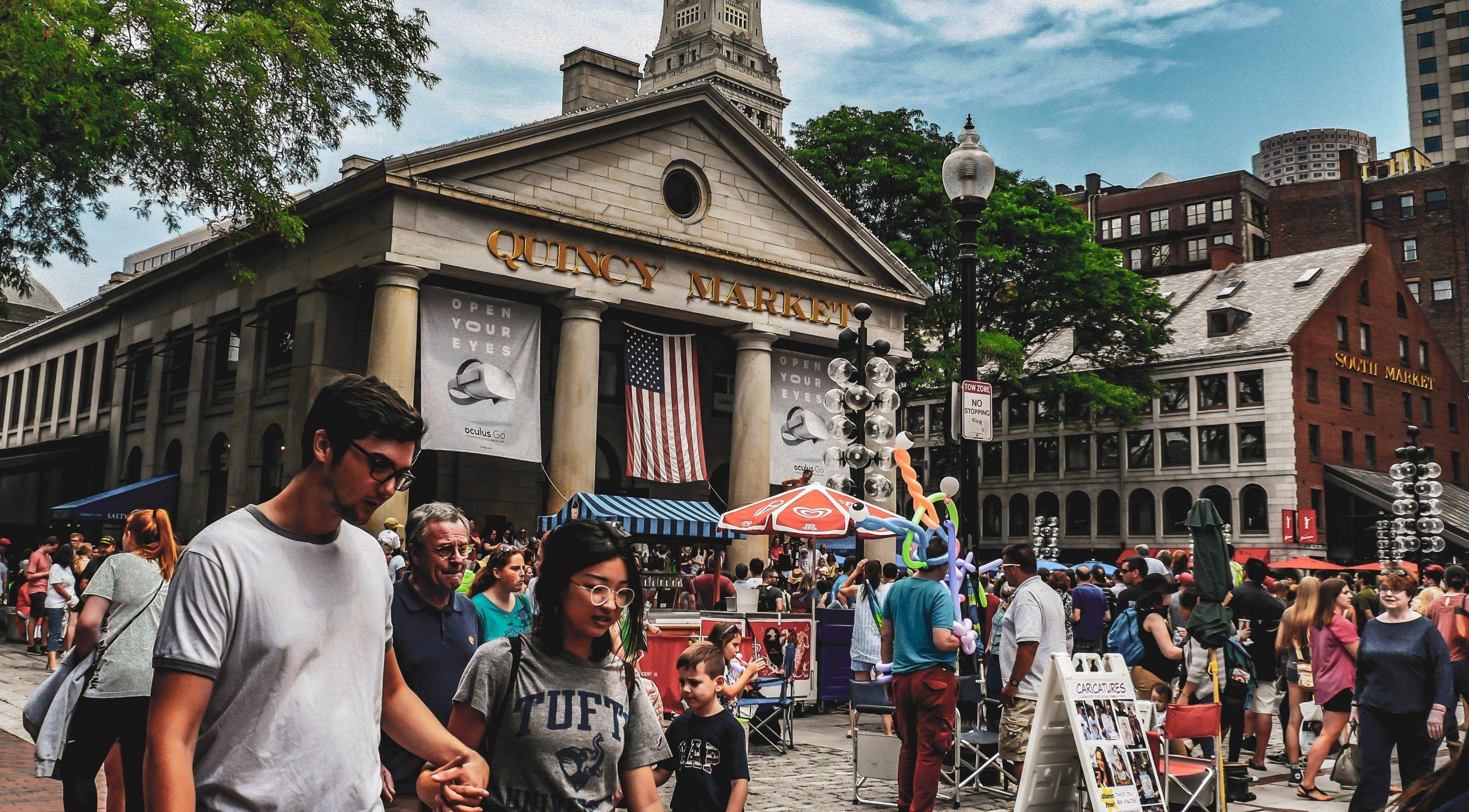 Quincy Market, dans le Faneuil Hall de Boston - Jay Ruzicka/Flickr