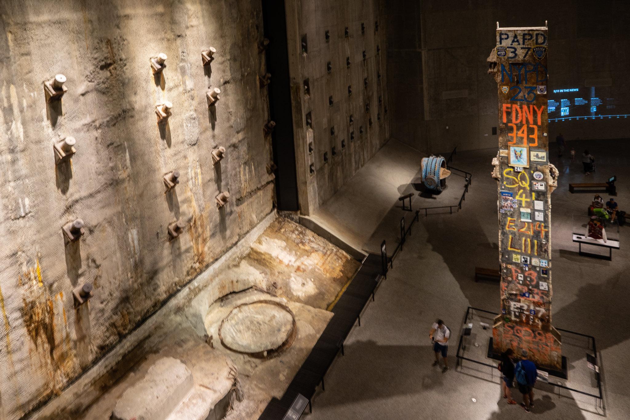 La 'Última Columna' en el Museo del 11S - Flickr/Frank Spieth