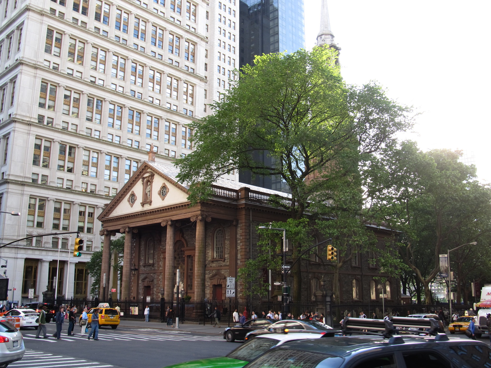 Capilla de St. Paul en Nueva York - Flickr/Ken Lund