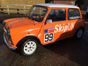 The SkipUK Enrty in the UK Mighty Mini Championships