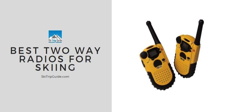 best two way radios for skiing