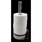 Toalettrullholder (3-rull) for gulv/vegg