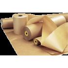 Papir ubleket kraft 100g 125cm 10kg/rull