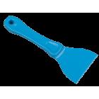 Salmon håndskrape i plast 205 x 76mm blå