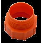 Kobling dia. 50mm til fatpumpe (orange)