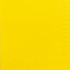 Servietter Duni 3 lag, 33x33 gul 1000 stk