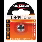Batteri Ansmann LR44/AG13 alkaline 1,5V