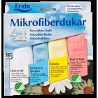 Frida microfiber kluter 4 farger. Svanemerket.