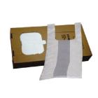 Bæreposer 30x17x60 5oostk hvit