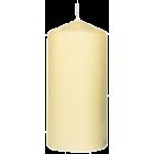 Stearinlys kubbe 13x6 vanilje 45t.