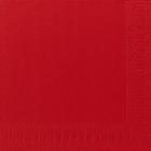 Servietter Duni 3 lag, 33x33 rød 1000 stk